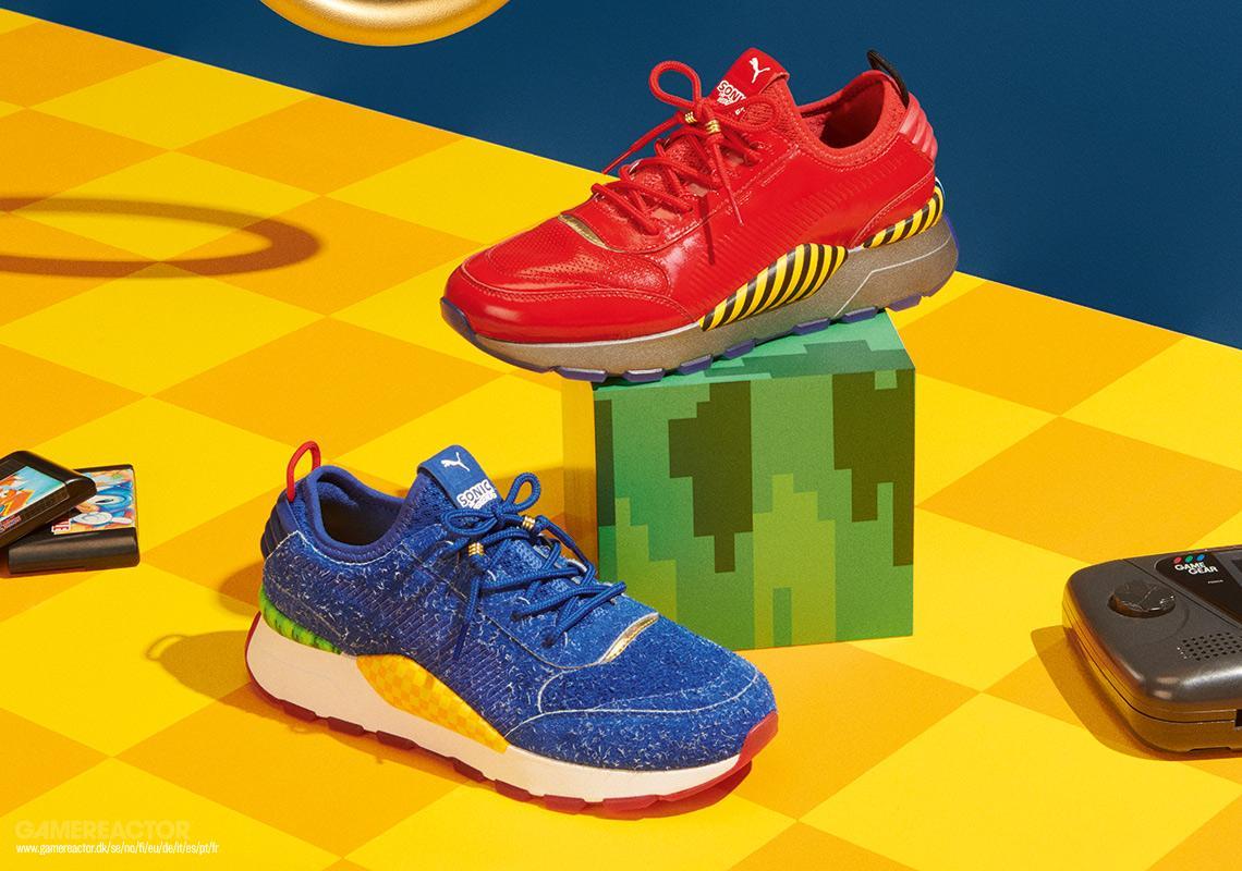 Pumas och Segas Sonic sneakers släpps inom kort Sonic the