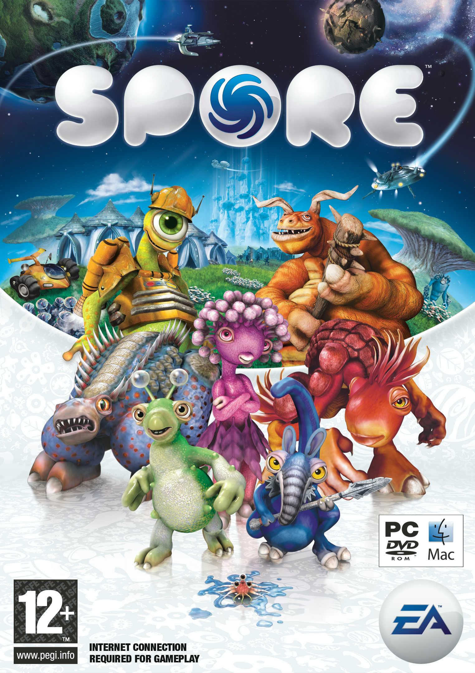 Скачать игру Spore для Nokia 640x360 (бесплатно) .