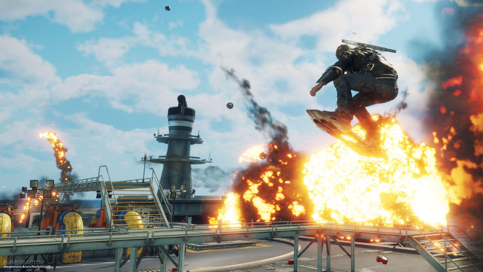 Just Cause 4 blir gratis på Epic Game Store nästa vecka
