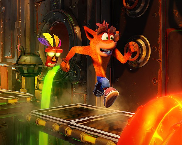 Crash Bandicoot: Nsane Trilogy tycks vara tidsexklusivt