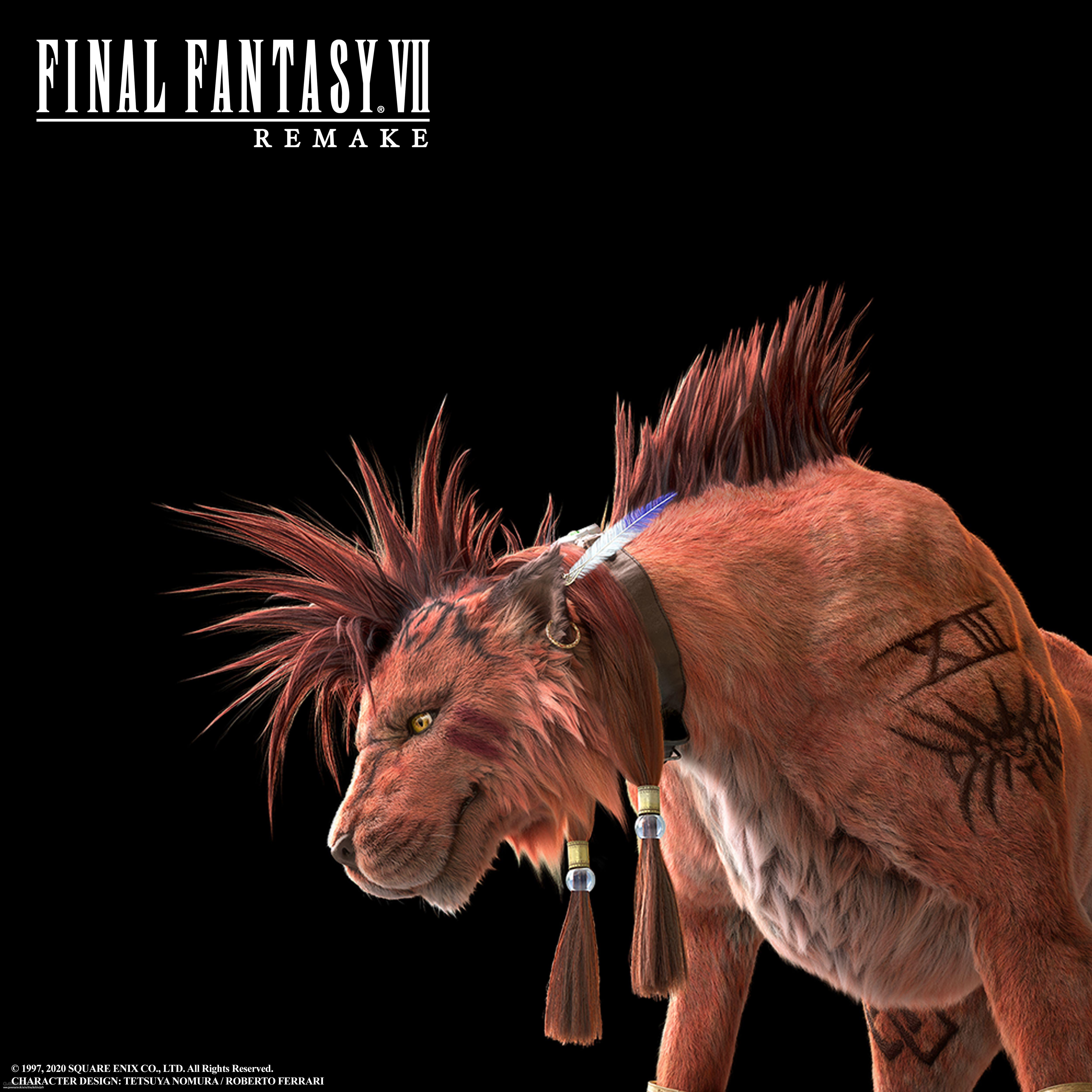 Red XIII är inte en spelbar karaktär i Final Fantasy VII: Remake
