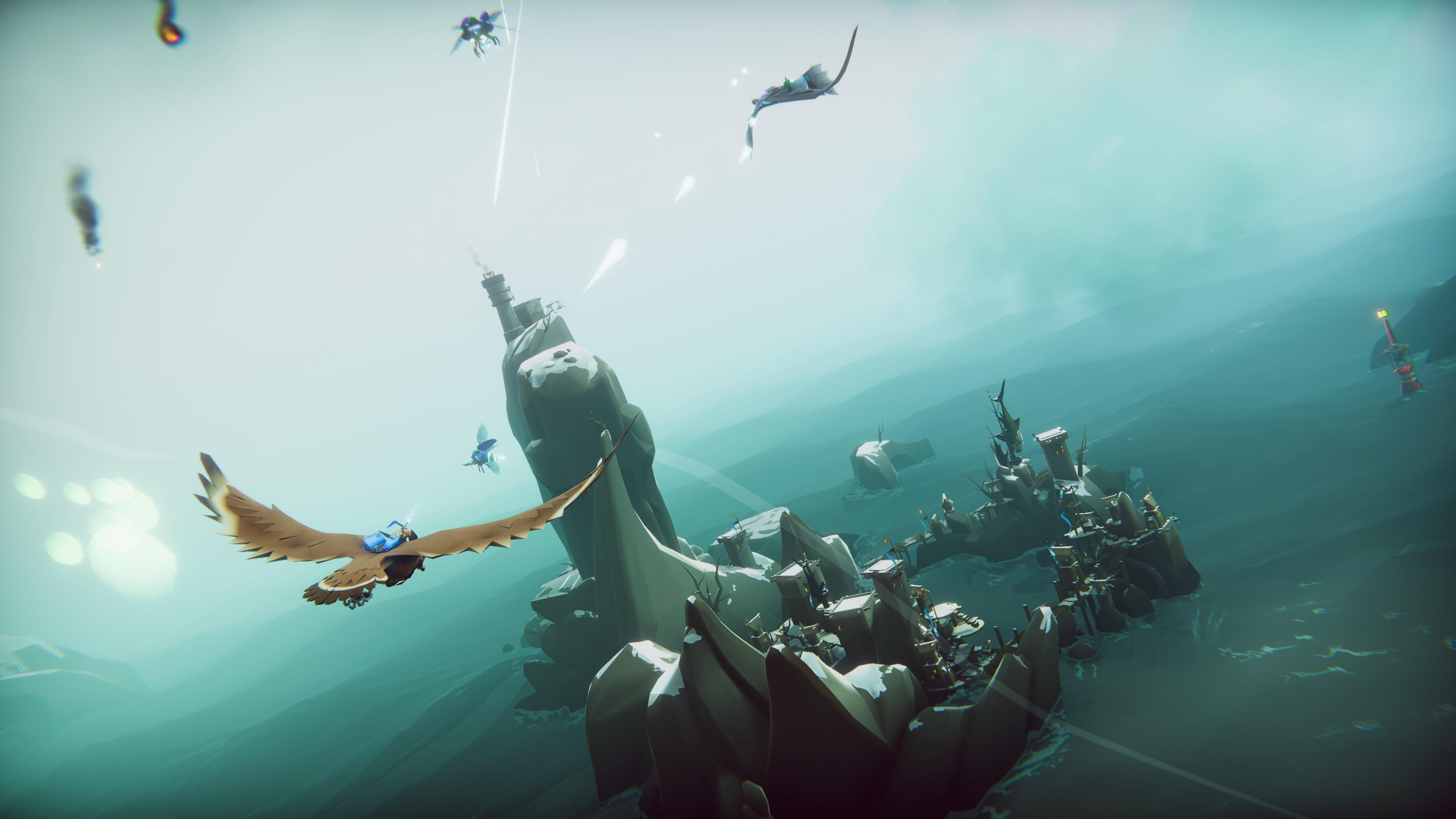 Episk lanseringstrailer för The Falconeer till Xbox Series X