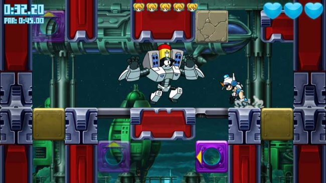 Mighty Switch Force: Hyper Drive Edition
