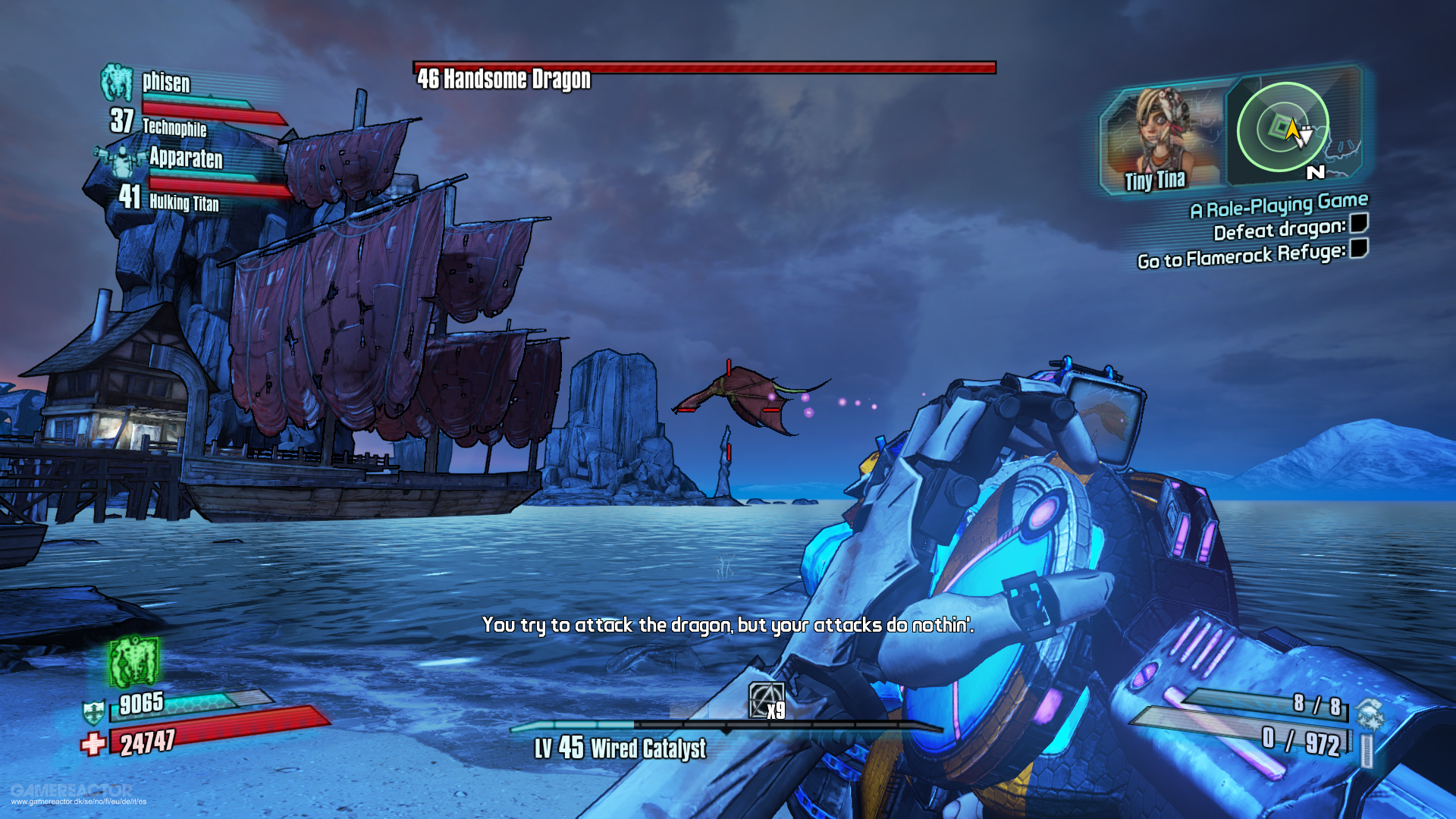 Borderlands 2  Tiny Tina s Assault on Dragon Keep Recension - Gamereactor ca8412fcb8d6b