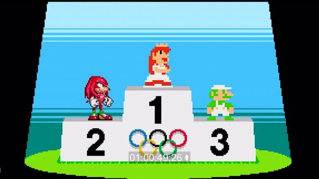 Det vankas 2D-event i Mario & Sonic at the Olympic Games