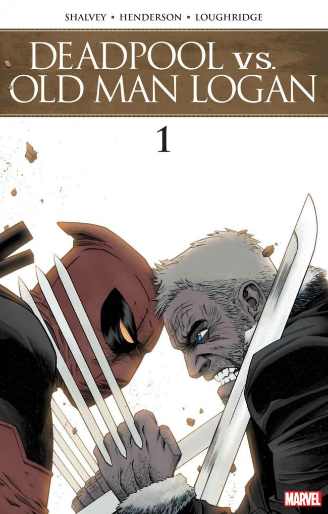 Deadpool vs Old Man Logan släpps i oktober