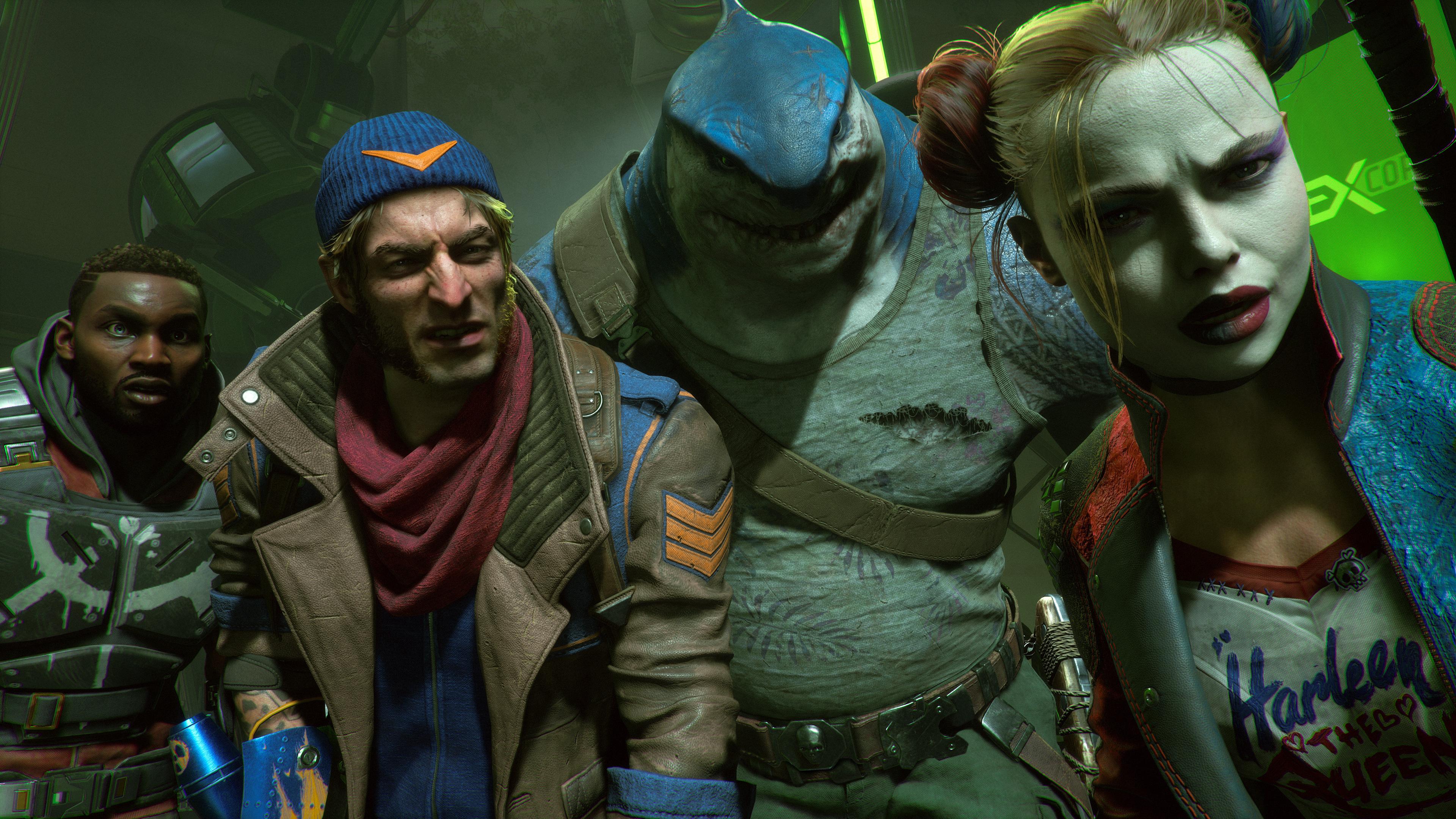 Nya screenshots från Suicide Squad och Gotham Knights