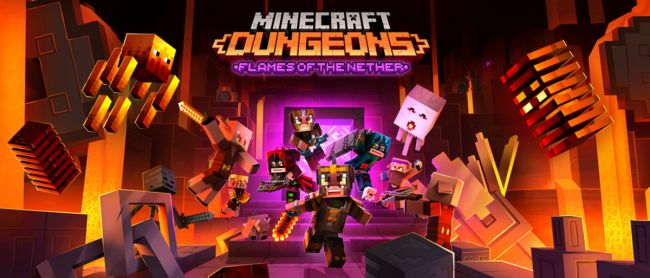 Minecraft Dungeons har nu uppdaterats till Xbox Series S/X