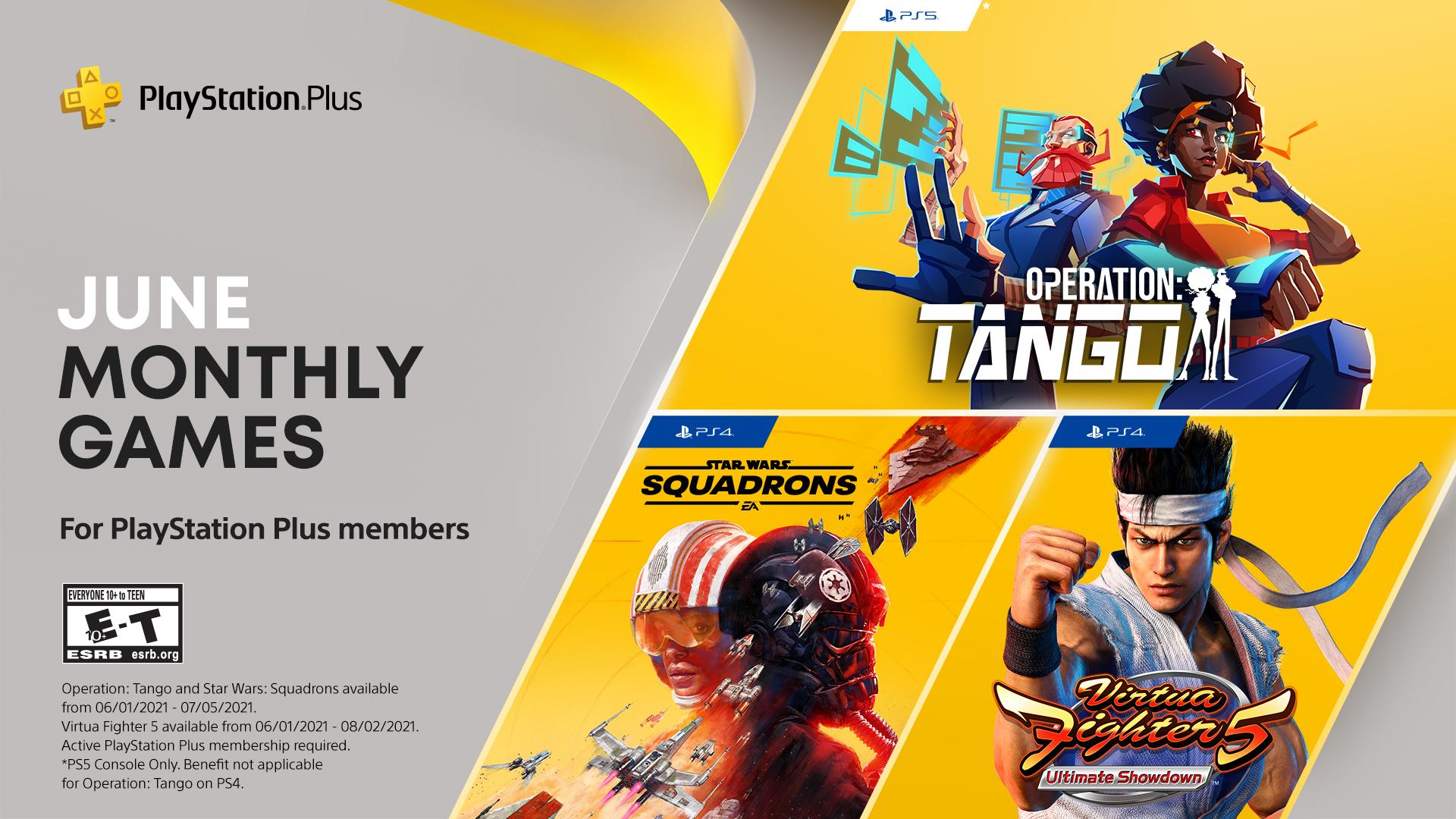 Här är Playstation Plus-spelen för juni månad