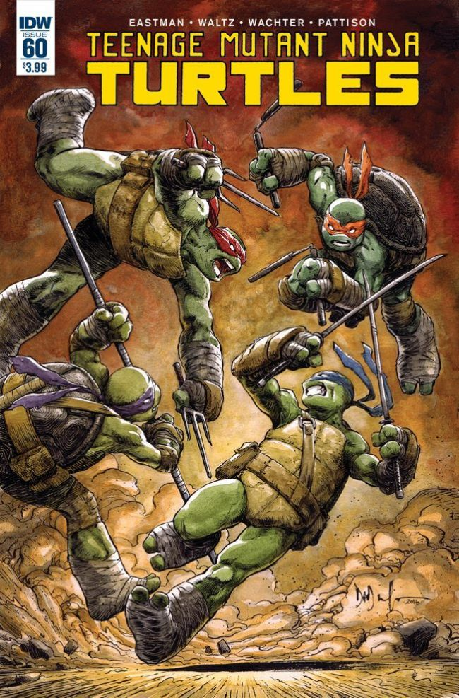 IDW introducerar ny sköldpadda i Teenage Mutant Ninja Turtles