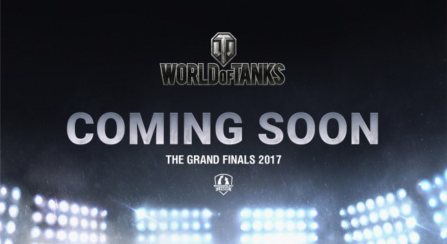 Here's the first details of Wargaming.net League Grand Finals