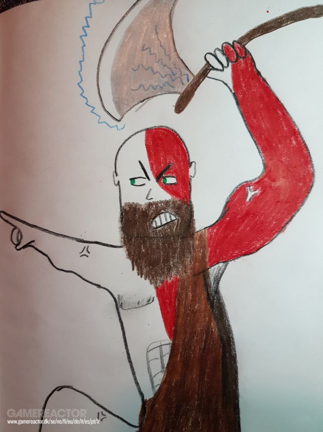 Redax Ritar: Kratos (God of War)
