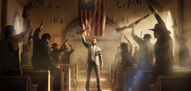 Ubisoft presenterar en ny Far Cry 5-trailer på Gamescom