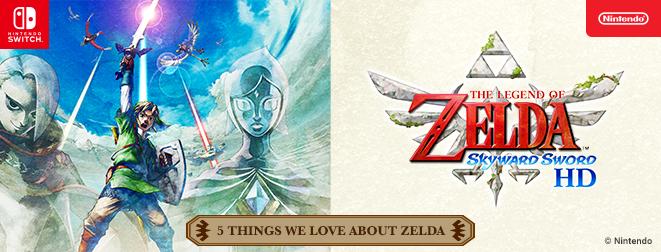 Fem saker vi älskar i The Legend of Zelda: Skyward Sword HD