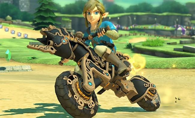 Breath of the Wild-Link tillagt i Mario Kart 8 Deluxe