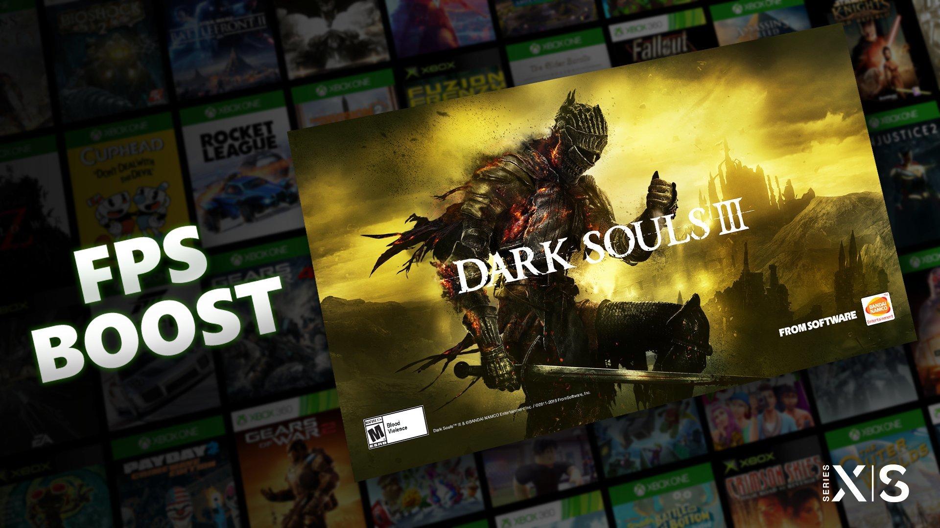 Dark Souls III kan nu spelas i 60 bilder per sekund till Xbox Series S/X