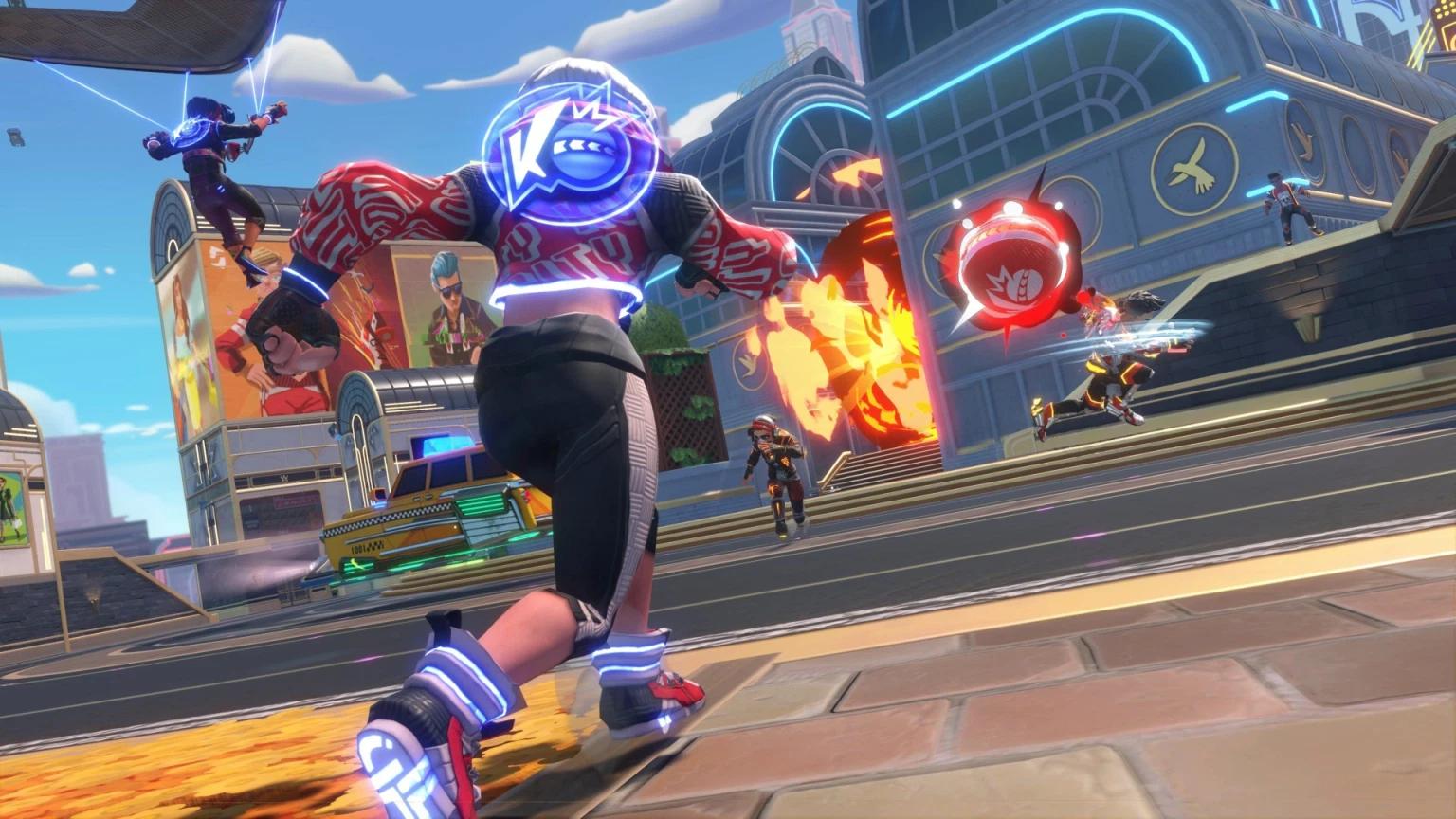 Knockout City släpps direkt till EA Play och Xbox Game Pass
