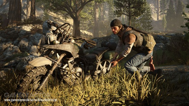 Playstation 4-exklusiva Days Gone visas upp på E3