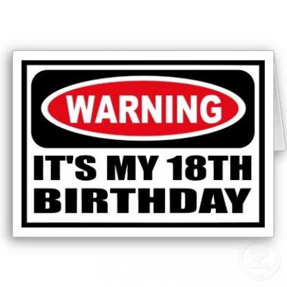 18 år födelsedag 18 ÅR!!!   Foxtrods blogg   Gamereactor 18 år födelsedag