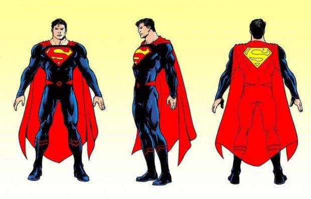 Supermans nya dräkt ser riktigt bra ut - Kenny Gustafssons blogg ... 436a91ad4bdc9