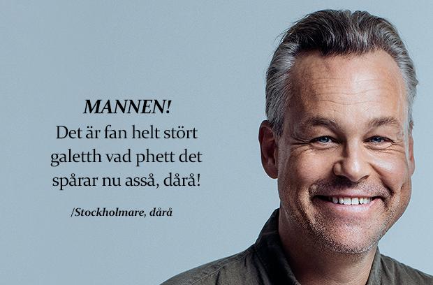Stockholmare begriper inte fotboll