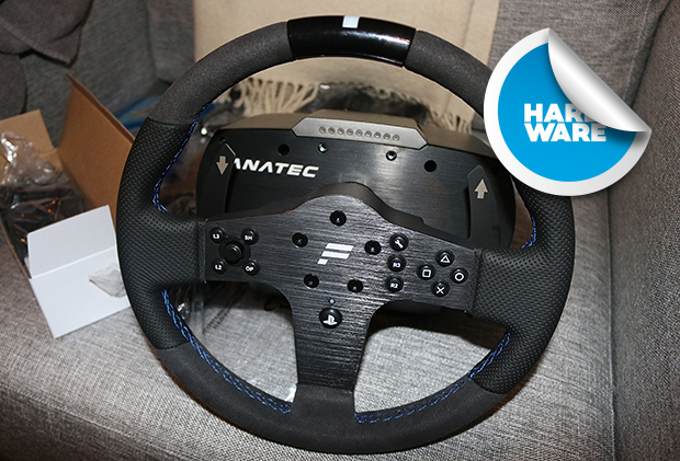 fanatec csl elite ps4 petters blogg gamereactor. Black Bedroom Furniture Sets. Home Design Ideas