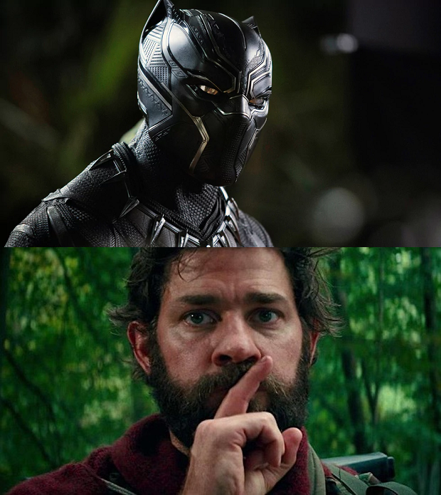 Black Panther och A Quiet Place