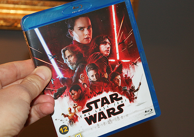 "Star Wars: The Last Jedi (på sån dära ""Blu-rajj"")"