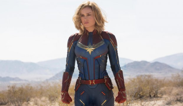 Captain Marvel var rätt kass