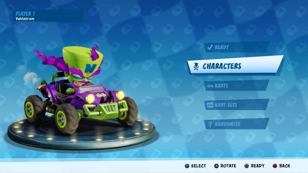 Vann äntligen ett onlinerace i Crash Team Racing Nitro-Fueled