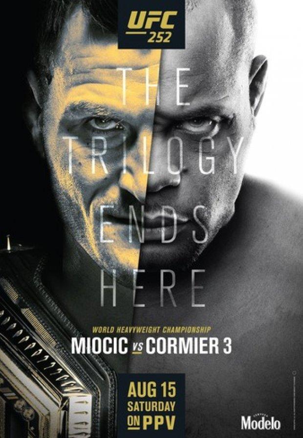Snart dags för UFC 252.