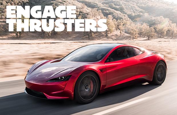 Tesla Roadster gör 0-100 på EN sekund (!)