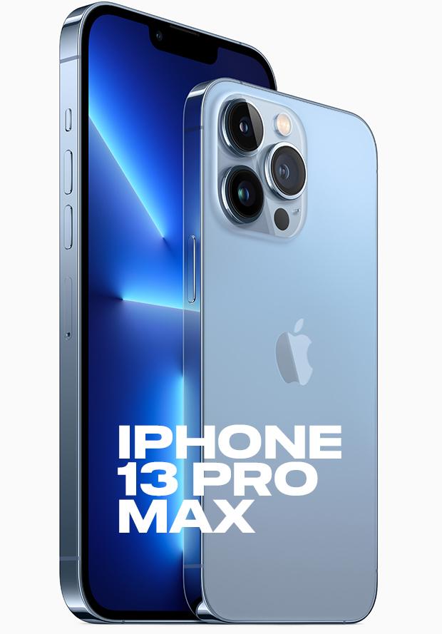 Iphone 13 Pro Max på ingång...
