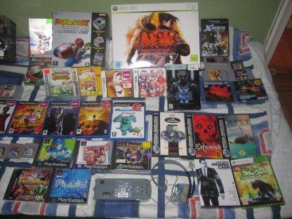 massor av spel
