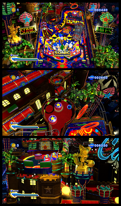 sonic casino night