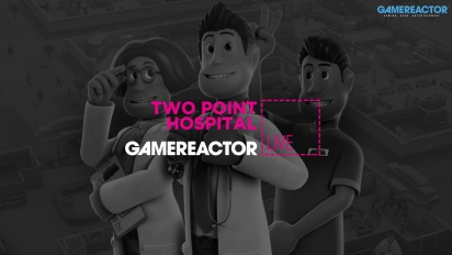 GRTV spelar Two Point Hospital till konsol