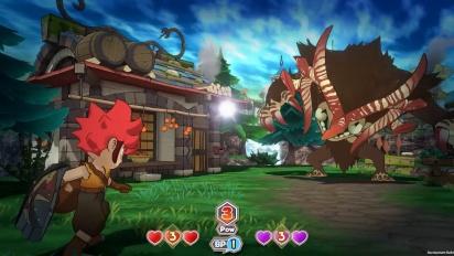 Little Town Hero - Gameplay Basics Trailer