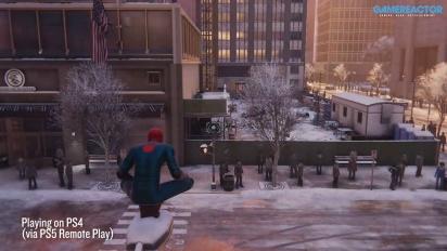 Spider-Man: Miles Morales - PS5 till PS4 streamat med Remote Play