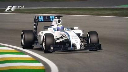 F1 2014 - Brazil Hot Lap - Gameplay Trailer