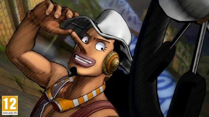 One Piece: Burning Blood - Usopp Move Set - Trailer