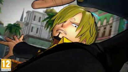 One Piece: Burning Blood - Sanji Move Set - Trailer
