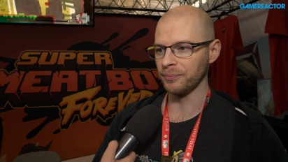 GRTV på Pax 2018: Vi intervjuar teamet bakom Super Meat Boy
