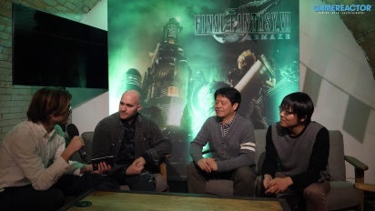 GRTV pratar FFVII med Yoshinori Kitase & Naoki Hamaguchi