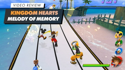 The Kingdom Hearts: Melody of Memory - Video Review