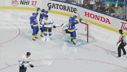 NHL 17: Världscupen - Finland vs. Sverige
