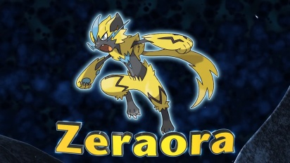Pokémon Ultra Sun and Pokémon Ultra Moon - Discover the Mythical Pokémon Zeraora