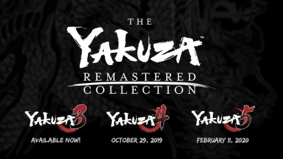 Yakuza Remastered Collection - Announcement Trailer