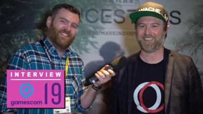GRTV på Gamescom 19: Intervju med studion bakom Ancestors: The Humankind Odyssey