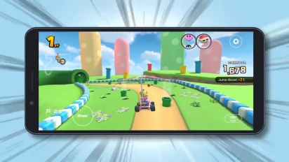 Mario Kart Tour - Introducing Landscape Mode