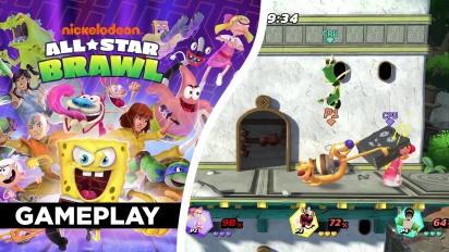 Nickelodeon All-Star Brawl - Gameplay